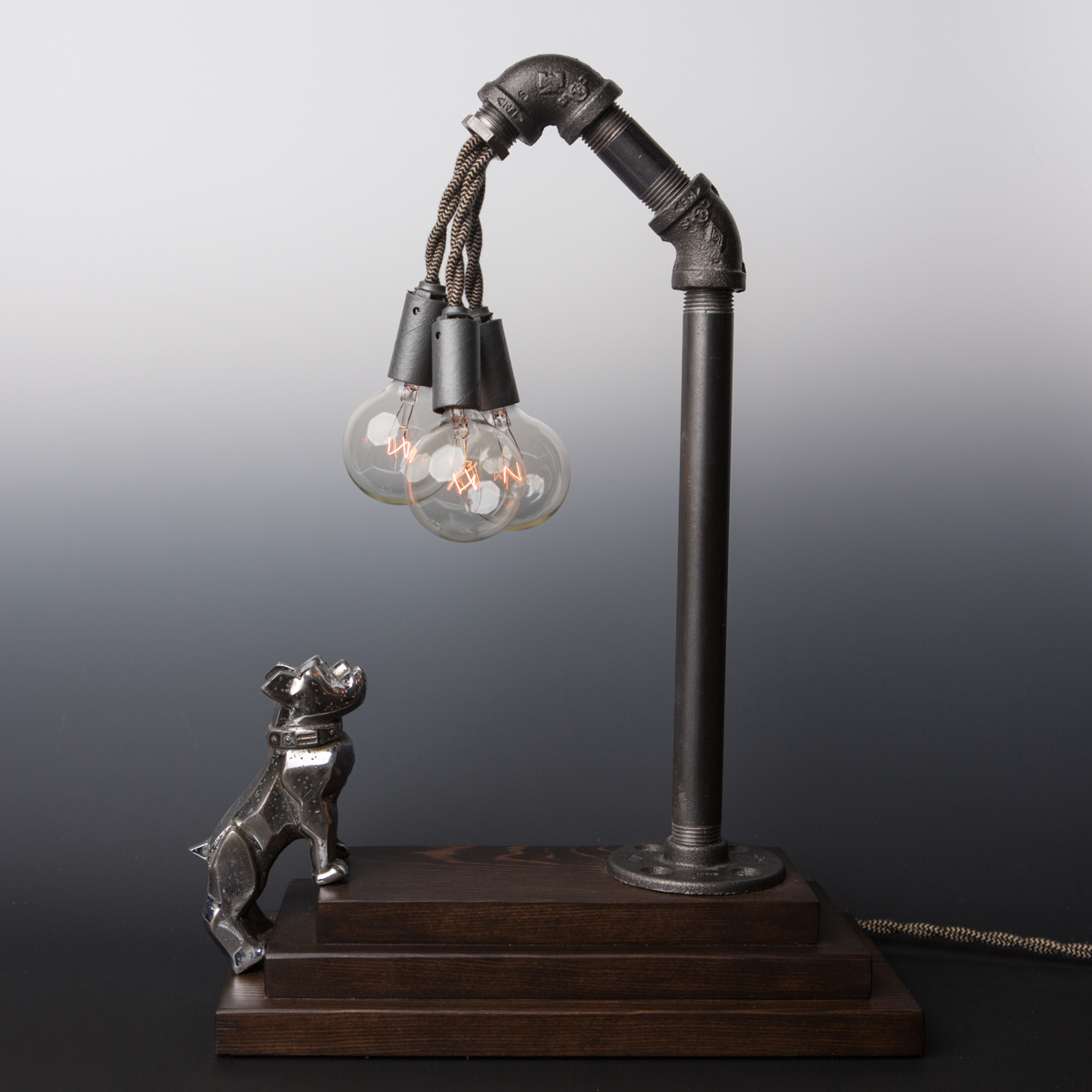 MACK Bulldog // Touch Sensor Lamp – Chrome | Lincoln & Hobbs