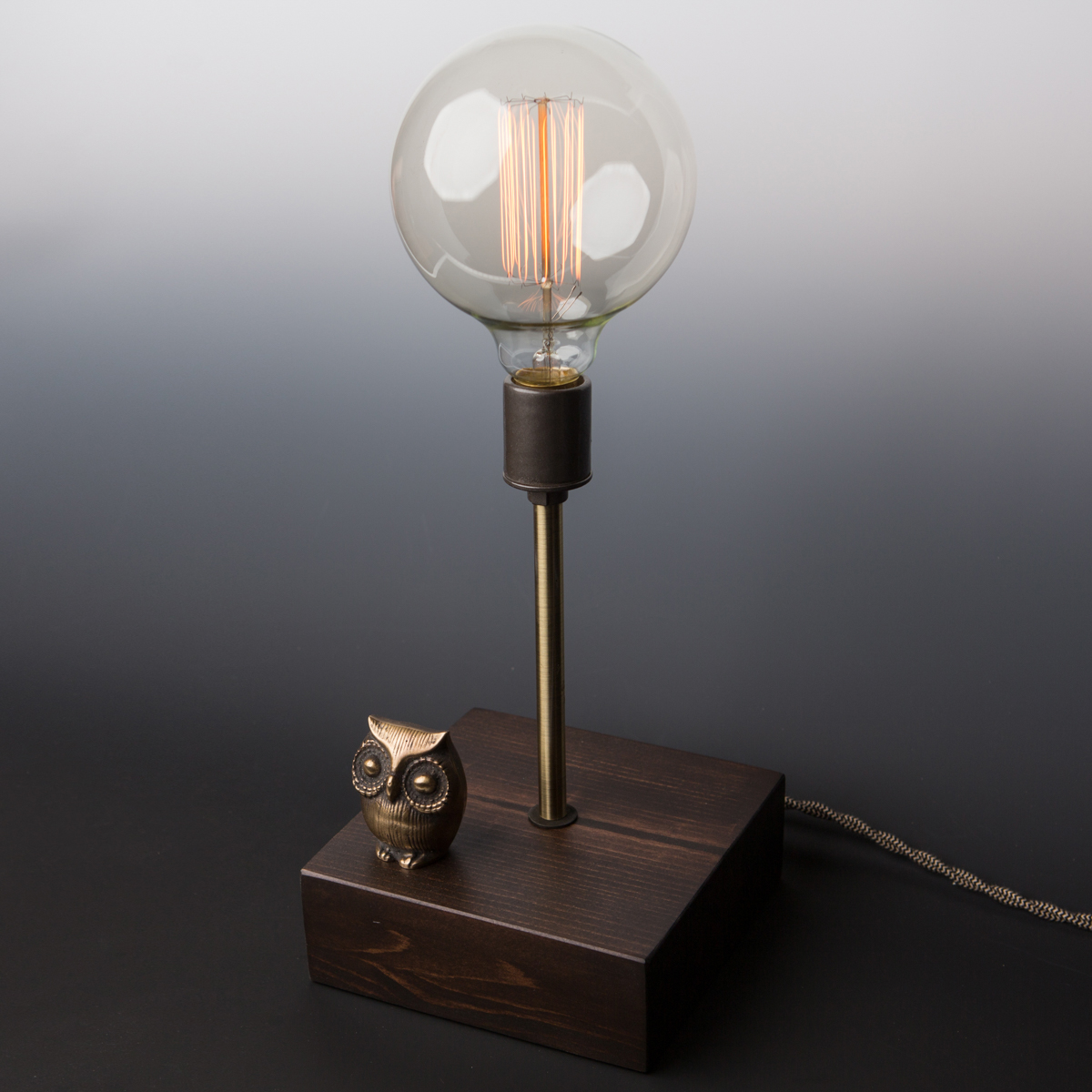 mr owl touch sensor lamp lincoln hobbs. Black Bedroom Furniture Sets. Home Design Ideas